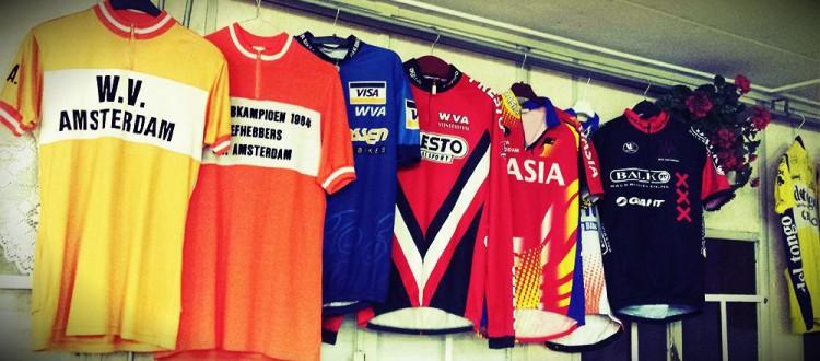 WV Amsterdam shirts uit het verleden