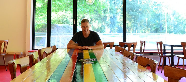 Frank Nederveen van studioNEP ontwierp het nieuwe clubhuis van WV Amsterdam